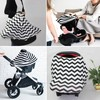 new arrival hot sale breathe freely stretchy baby car seat cover canopy