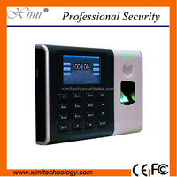 Fingerprint Expired date setting fingerprint recognition time recorder XM100 fingerprint time clock optional ID/IC card reader