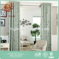 High quality ready made european style blackout hotel curtains