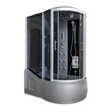 AJL-3805 pinghu luxury hydromassage steam shower room/shower cabins