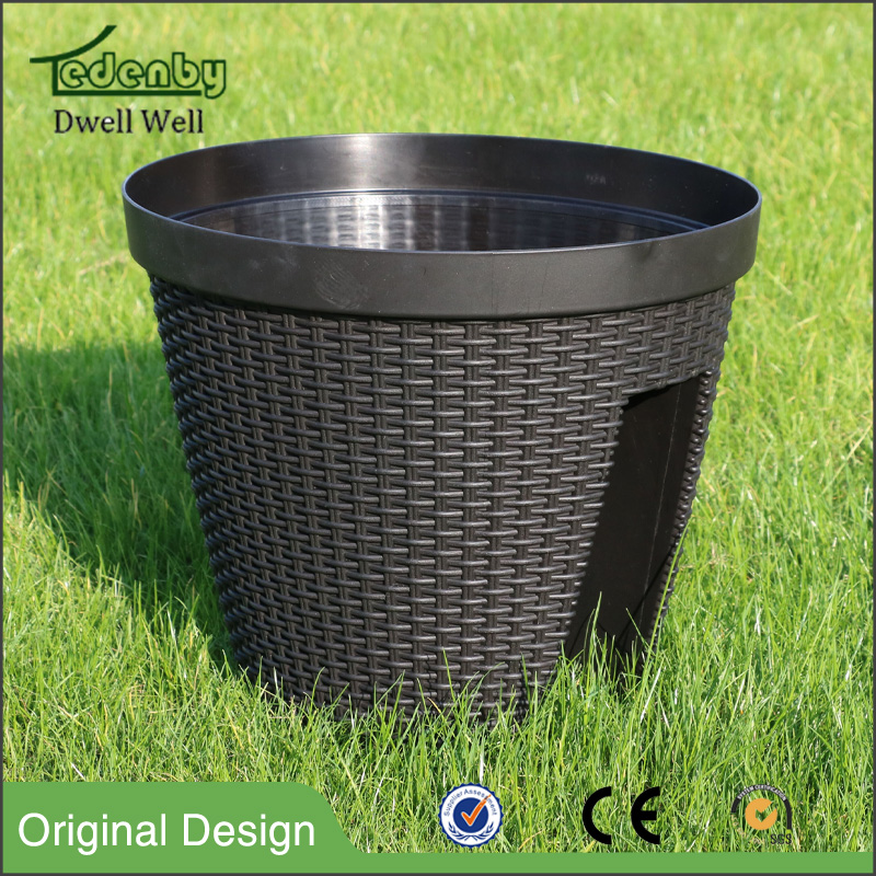 PP Plastic Type and Pots Type vertical green plant