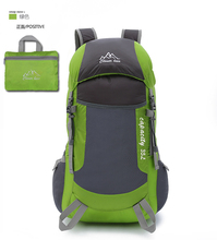 lightweight Folding mountaineering cute waterproof nylon folding <strong>backpacks</strong> for teens