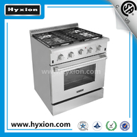 30 inch 4 burner gas cooker with oven