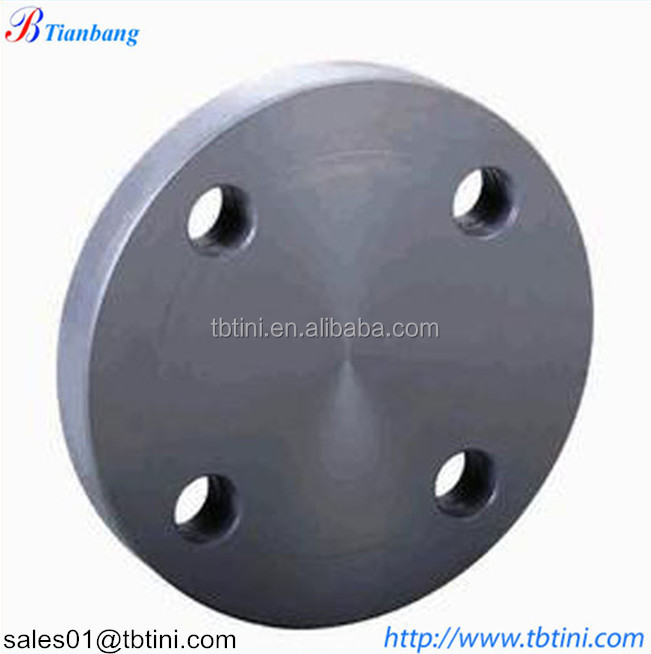 Professional manfacturer of DIN 2635 weld neck reducing blind titanium flange