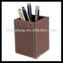 factory wholesale leather pen container TB-BP003
