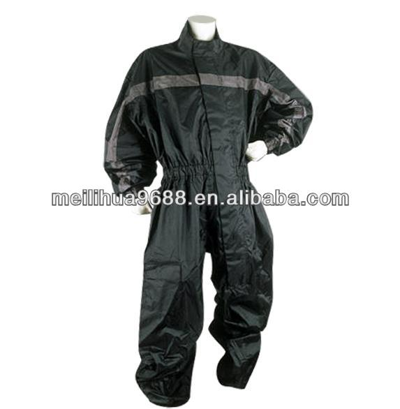 Motorcycle Rain Gear One Piece Rain Suit
