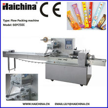 DZP250C High Speed Multifunctional Flow Wrapping Machine For Chocolate