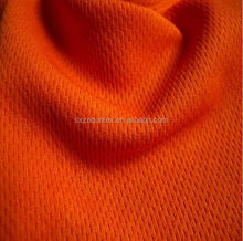 100% polyester coolpass dry fit mesh fabric 160gsm knit moisture absorption pique fabric for sport's wear