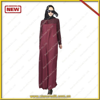 2017 fancy design Dubai Abaya Muslim coat hot sale burka abaya