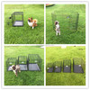 China high quality iron fence dog kennel