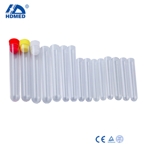 laboratory transparent plastic test tube