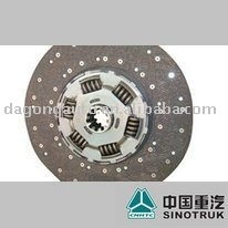 430 Pull type Clutch Disk --Sinotruk parts CNHTC parts HOWO parts