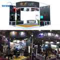 Detian Offer display rack exhibition booth tension fabric display exhibition display system