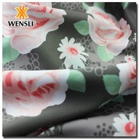 Soft Handfeel Solid Dyeing Silk Fabric