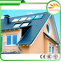 Portable Solar Water Heater Solar Panels For Home Heat Pipe Solar Collector System