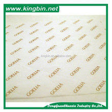 Custom logo printed thin gift paper wrapping paper