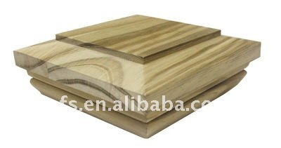 special and popular unfinished wood post cap(EFS-PC-007)