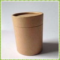 Good quality brown kraft paper box/round box in China