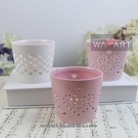 (MOQ 1 pcs) Stock for Ceramic Candle Holder