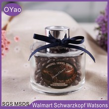 Round Glass Bottle Coffee Beans Fragrance