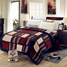 100%polyester rachel fleece blanket textile quilted cotton blanket