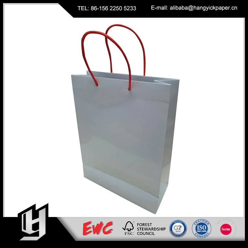 New brand 2017 paper shopping bag manufactured in China