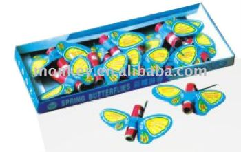 small spring butterfly toys safe for children firework-W526B