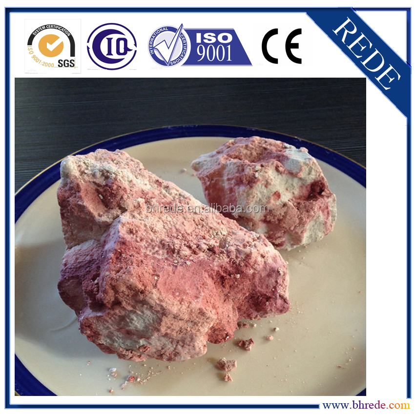 Red Clay Raw Kaolin for Ceramics/Pottery RTC-RAW65 Competitive Price