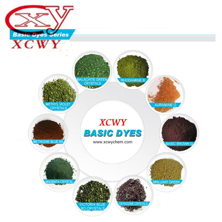New hot products on the market high quality CAS 2390-60-5 basic dyes basic blue 7