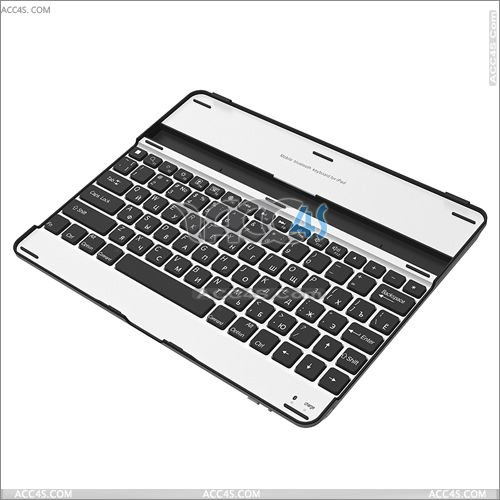 Aluminum bluetooth wireless keyboard case for ipad 2/3 P-iPAD3HCKBSO005