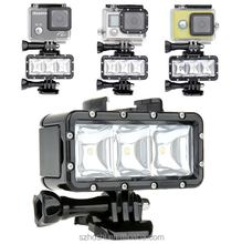 Cheap gopro accessories Underwater Light Diving waterproof LED video light