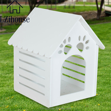 Plastic Outdoor Large Dog House Pet Kennel Garden House