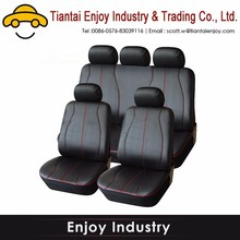 Foldable cheap car seat cover leather