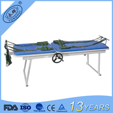 Manufactory wholesale equipment 3-crank manual orthopedic traction bed for hospital