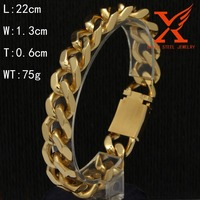 Wholesale Cheap Mens Silver Hand Chain Link Bracelet Factory Custom Brand 316l Stainless Steel Jewelry
