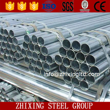 pre galvanized round Q235 half circle galvanized corrugated steel pipe