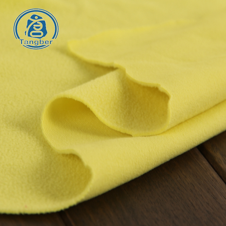170gsm one side brush cheap DTY 100% <strong>polyester</strong> anti pilling polar micro fleece fabric