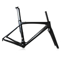 Aero carbon bike frames OG-CF015 Full Carbon Fiber T700 road bike frame china T700 road bike frame china