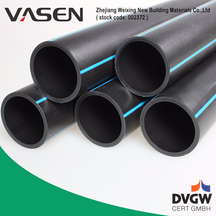 VASEN Water Supply Hdpe Pipe Pn10/Hdpe Pipe Standard Length