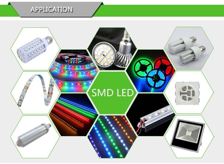 LED LCD TV backlight lamp beads 7020