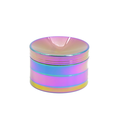 Yiwu Jiju JL-314JA New Zinc Rainbow Colorful Wholesale Tobacco Grinder Accessories