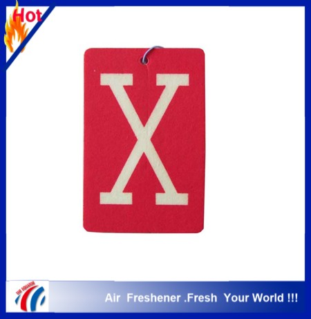 2015 new design hot selling hemp air freshener paper