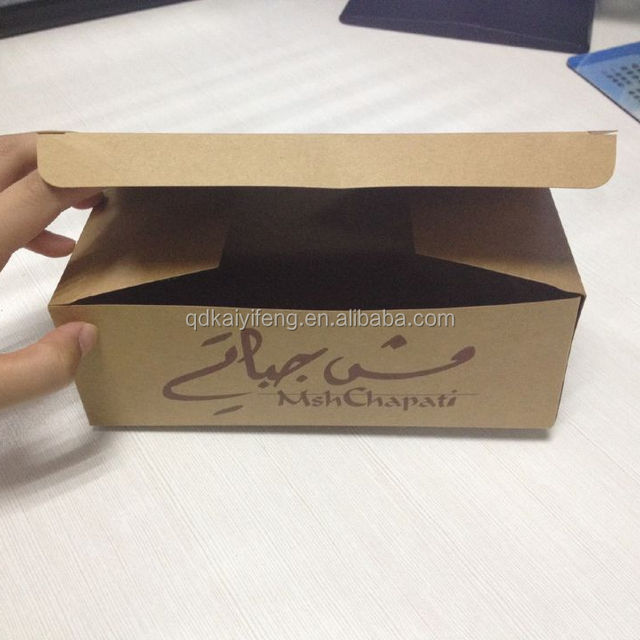 100% quality ensure cheap price factory custom print and size packaging kraft paper box