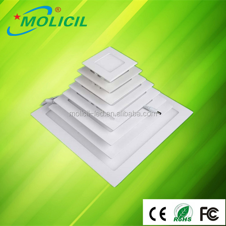 Hot sale shenzhen Square 6W led panel light, indoor led ceiling down light for kitchen