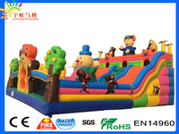 Guangzhou boonie bears inflatable bounce houses for renting