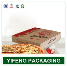 Good quality corrugated pizza box cartons