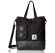 High quality music water resistant tote bag with speaker,shoulder black handbag for men
