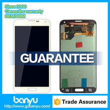 Lcd touch display with digitizer assembly for samsung galaxy s5 g900f screen