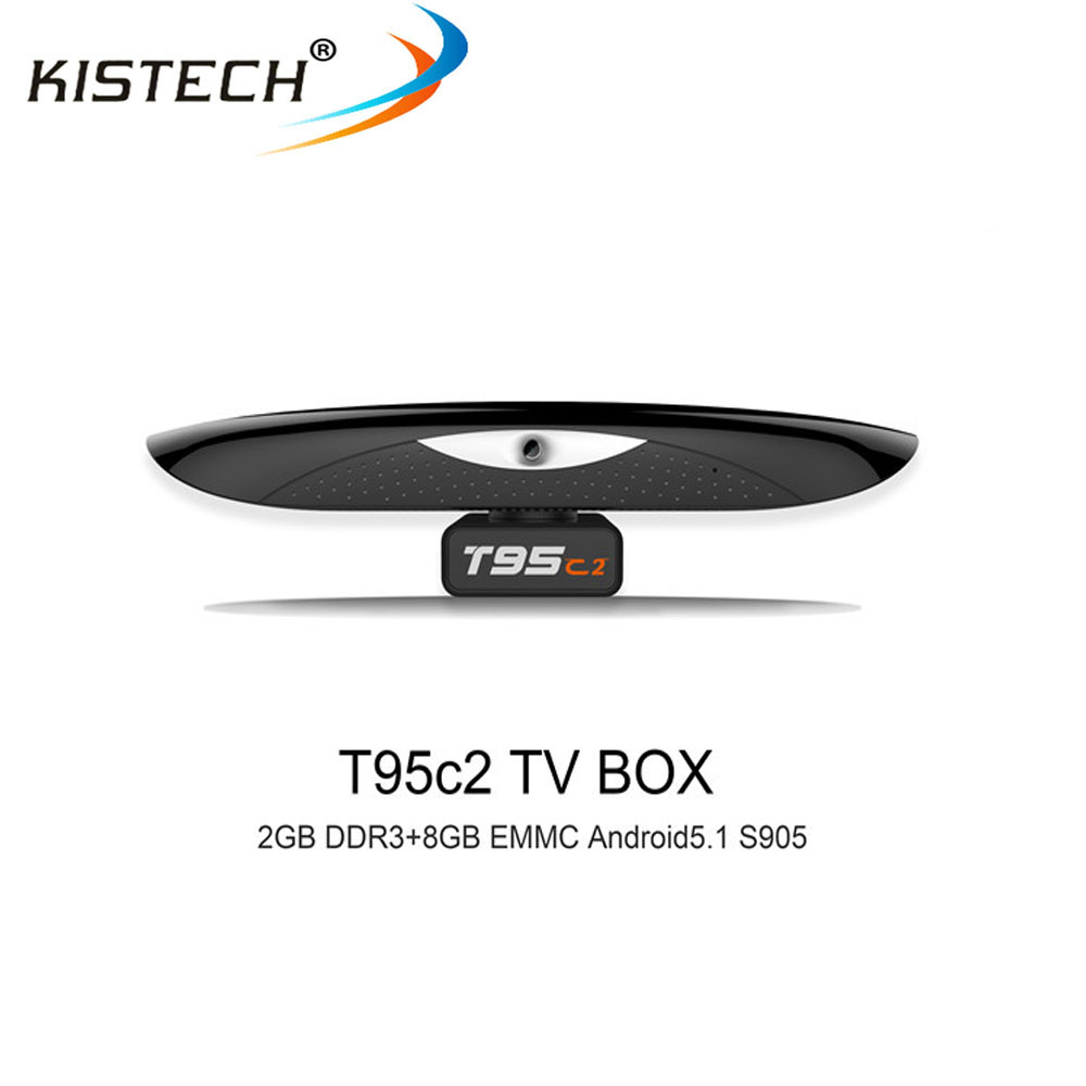 S905 CPU RAM 2GB ROM 8GB android 5.1 KODI 16.0 with 5.0MP camera T95C2 android tv box