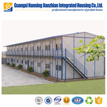 Steel plate EPS insulation sandwich panel prefab house labor camp/building/office